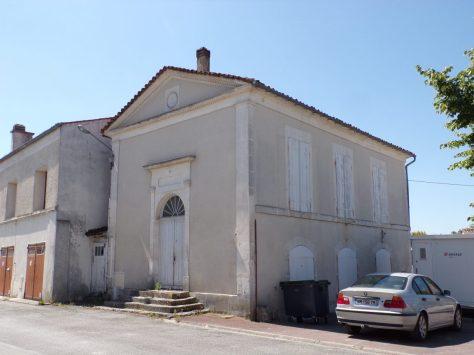 Juillac-le-Coq - Le temple (16 juillet 2019)
