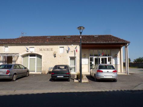 Réparsac - La mairie (22 juillet 2019)