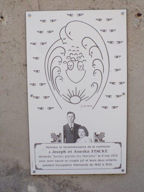 Salles d'Angles - Joseph et Aneska Stacke (16 juillet 2019)