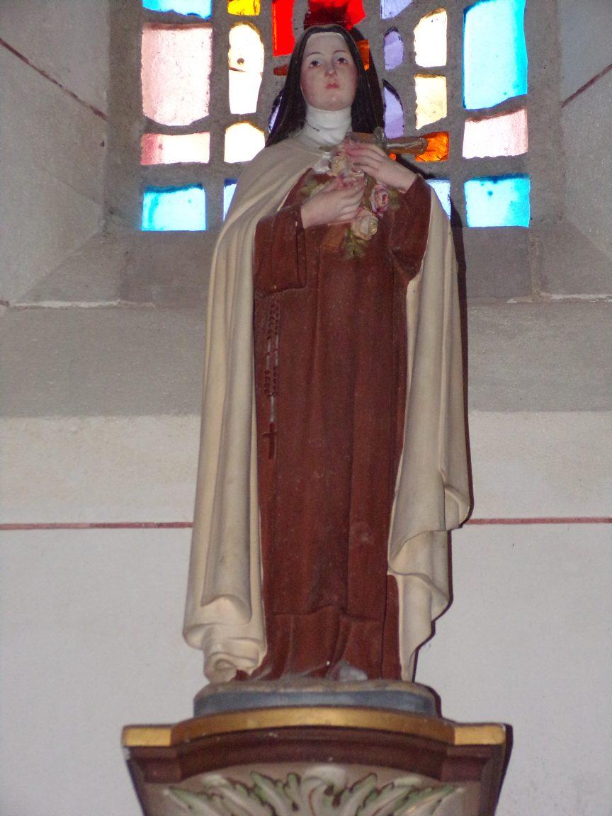 Gondeville - L'église Notre-Dame - Sainte Thérèse de Lisieux dite »Sainte Thérèse de l'Enfant Jésus » (21 septembre 2019)