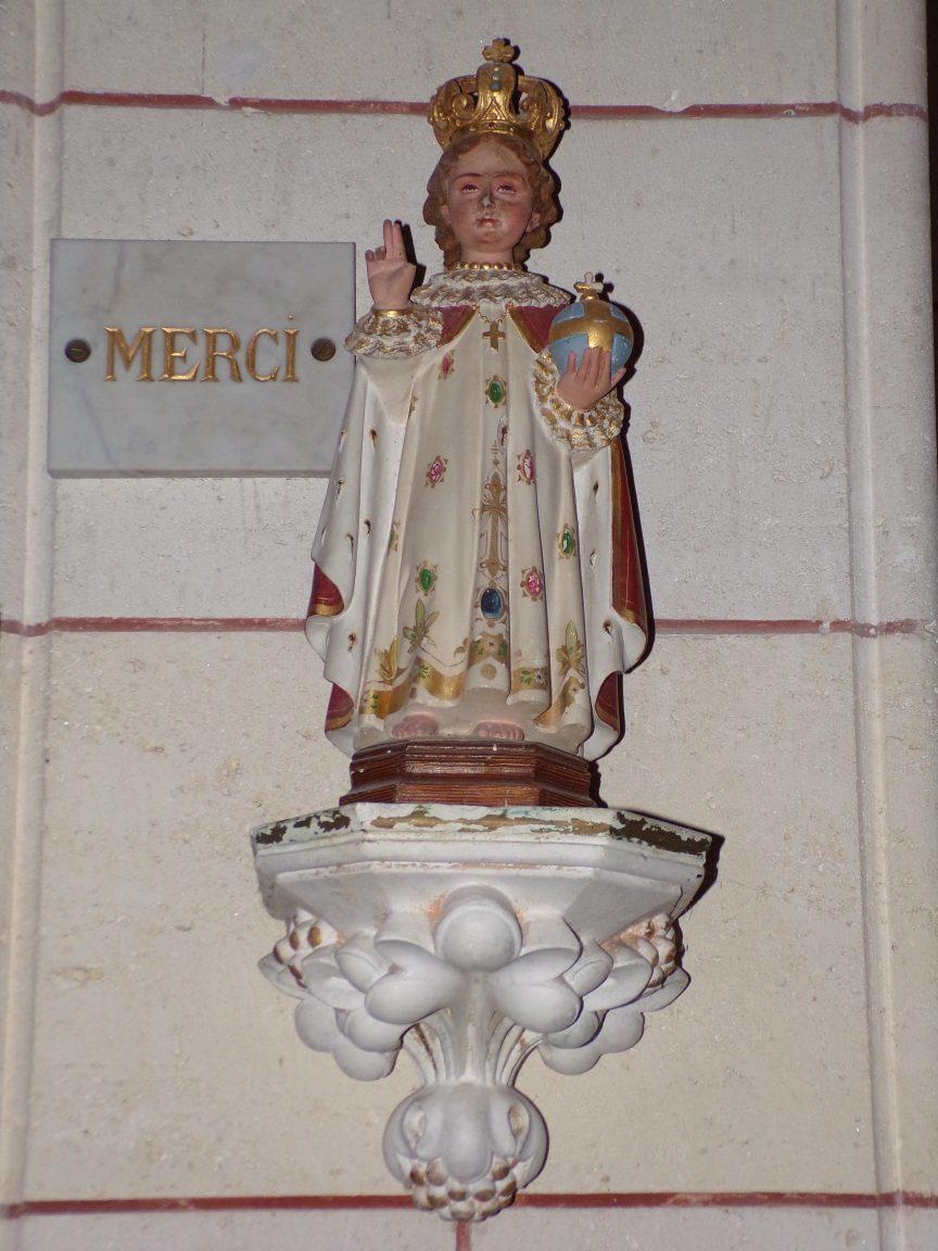 Gondeville - L'église Notre-Dame - L'Enfant Jésus (21 septembre 2019)