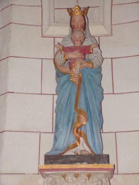 Eglise Notre-Dame - La Vierge Marie - Gondevile (21 septembre 2019)