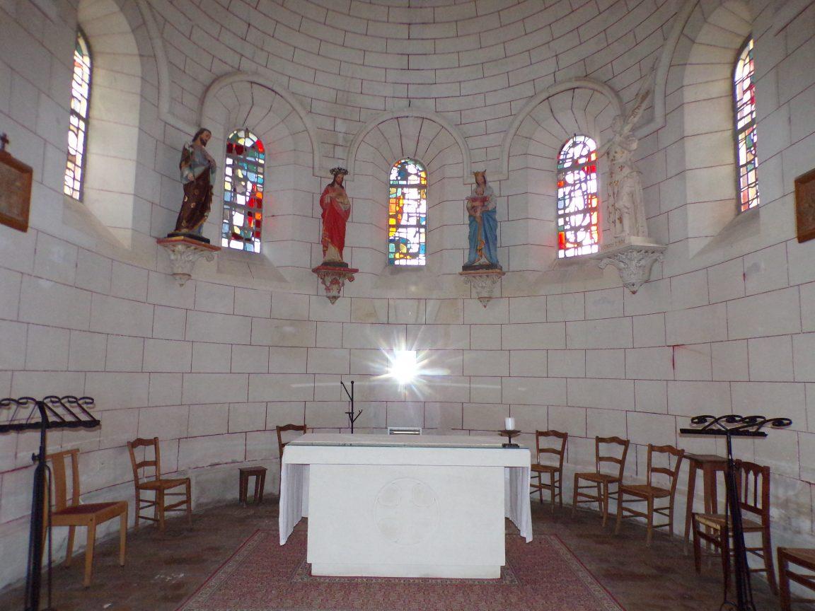 Gondeville - L'église Notre-Dame - L'Autel (21 septembre 2019)