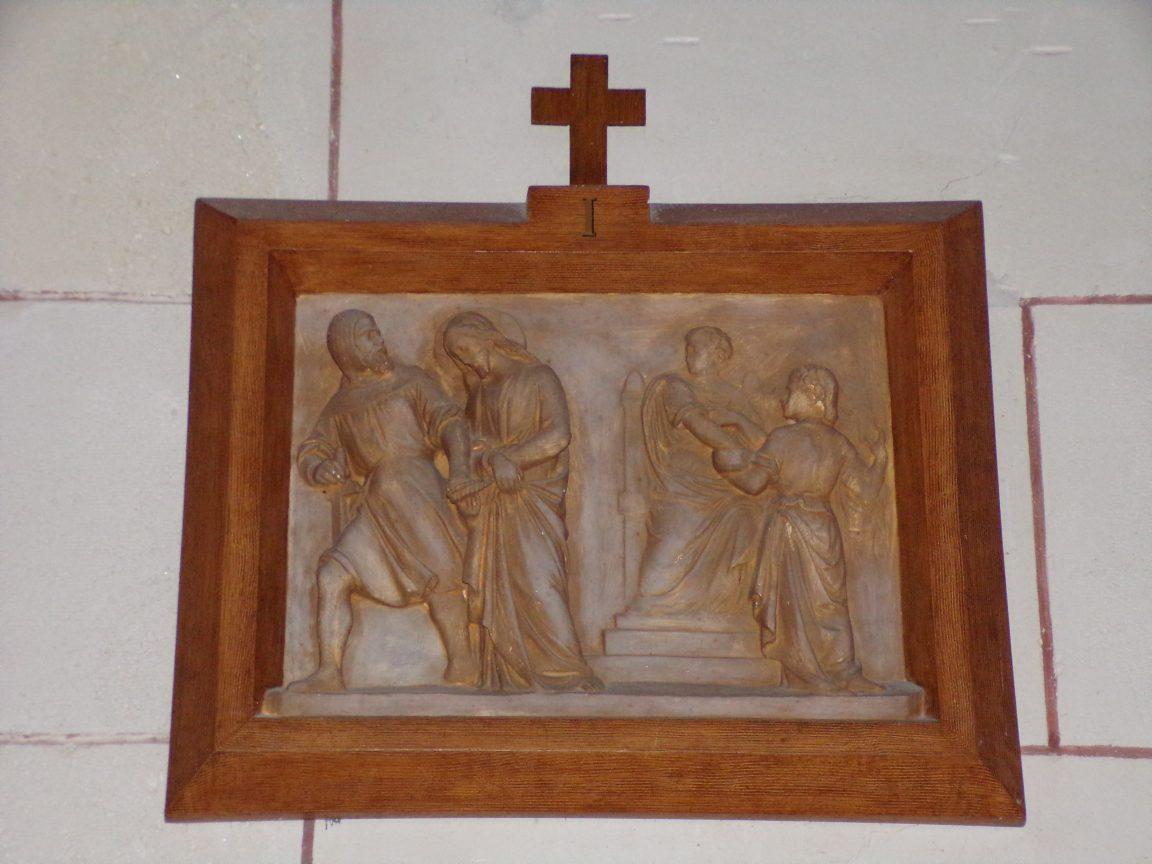 Gondeville - L'église Notre-Dame - Le chemin de croix (21 septembre 2019)