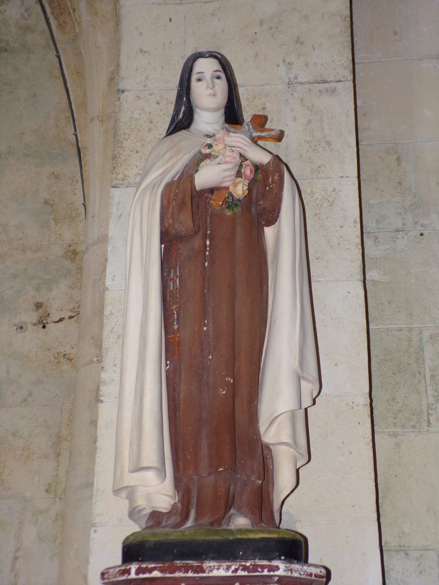 Ambleville - L'église Saint-Pierre - Sainte Thérèse de Lisieux dite ''Sainte Thérèse de l'Enfant Jésus'' (21 septembre 2019)
