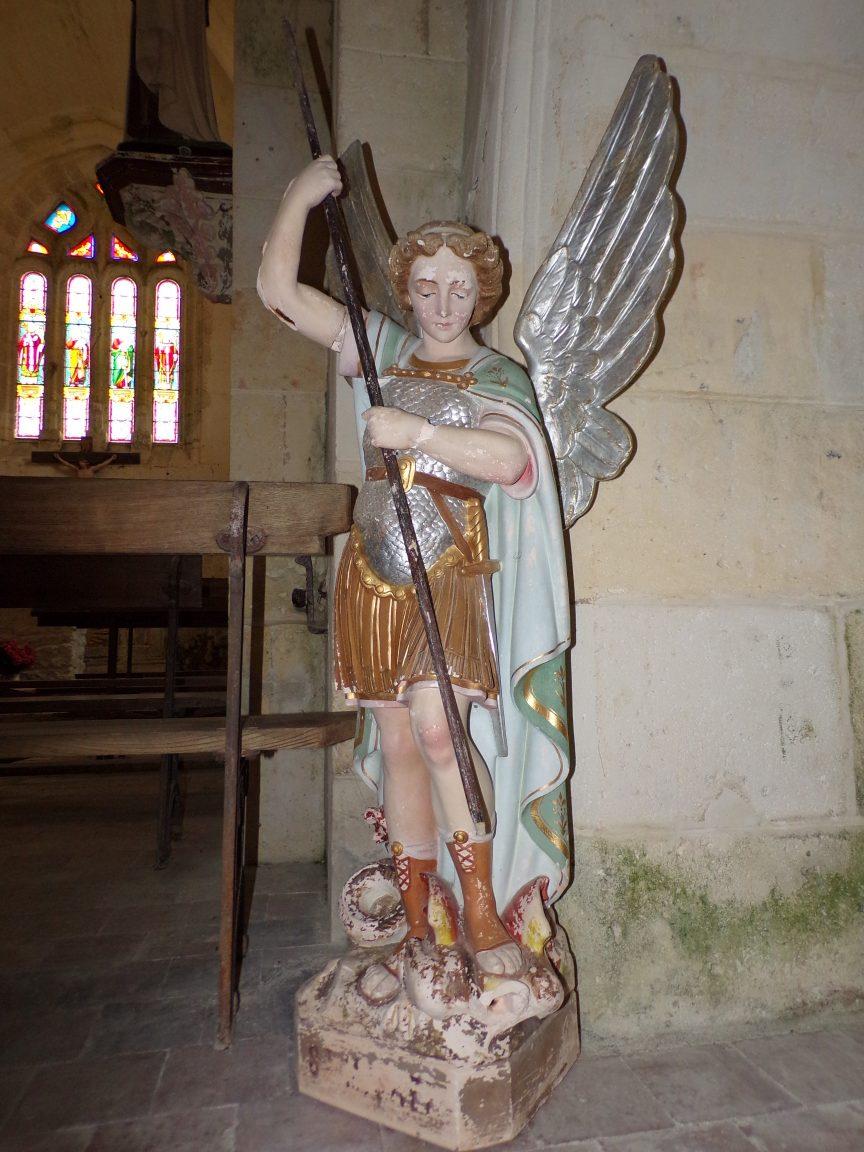 Ambleville - L'église Saint-Pierre - Archange Saint-Michel (21 septembre 2019)