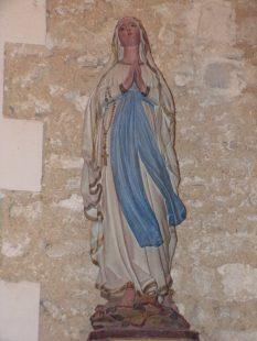 Église Sainte-Marie-Madeleine de Crouin (23 décembre 2019)