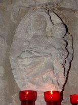 Église Sainte-Marie-Madeleine de Crouin - Une vierge de l'enfant (23 décembre 2019)
