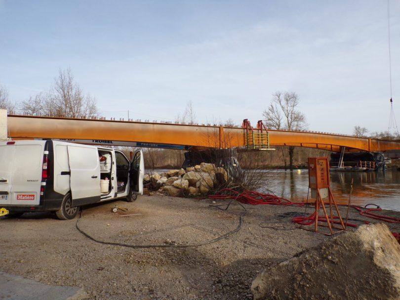 Pont de Châtenay - boulevard de Châtenay (3 février 2020)