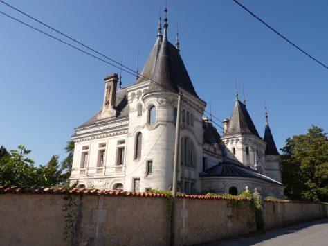Jarnac - Le château des Chabannes (21 septembre 2016)