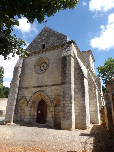 Eglise Angeac-Charente (18 août 2016)
