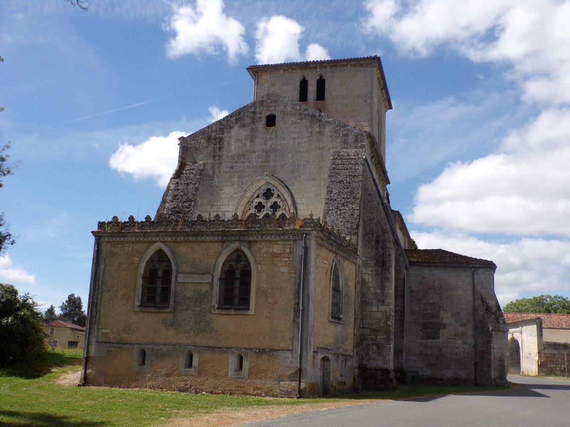 Angeac-Charente - L'Eglise Saint-Pierre (18 août 2016)