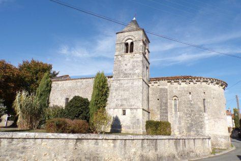 Saint-Trojan - L'église de Saint-Trojan (2 novembre 2017)