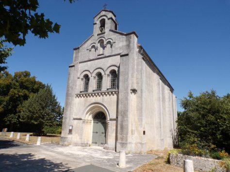Boutiers - L'église Saint-Antoine (25 août 2016)