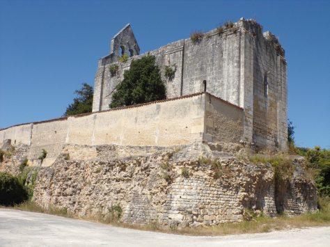 Boutiers-Saint-Trojan - L'église Saint-Marmet (25 août 2016)