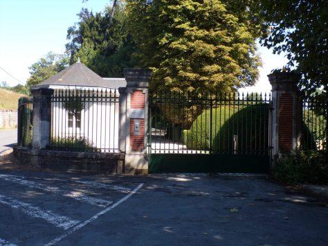 Entrée du Château de Bagnolet (25 août 2016)