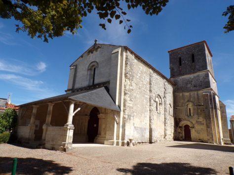 Chérac - L'église Saint-Gervais et Saint-Protais (3 septembre 2016)