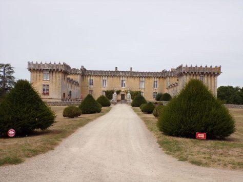 Cherves-Richemont - Le château Chesnel (4 septembre 2016)