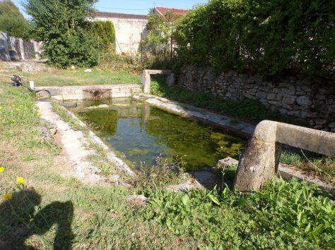 Cherves-Richemont - Le lavoir de Fontenille (8 septembre 2016)