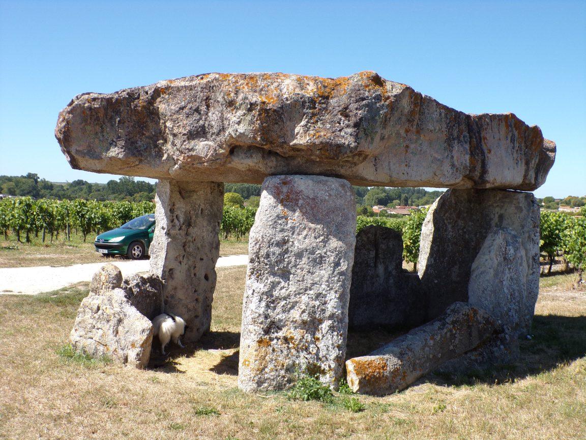 Saint-Fort sur le Né - Le dolmen (22 août 2016)