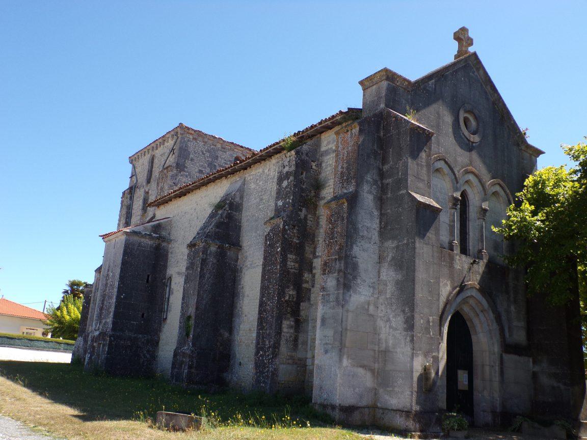 Saint-Fort sur le Né - L'église Saint-Fortunat (22 août 2016)