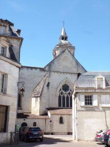place des Dames - L'église Saint-Léger (15 mai 2019)