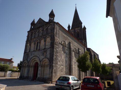 Gensac-la-Pallue - L'église Saint-Martin (15 août 2016)