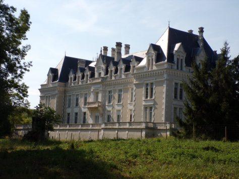 Gensac-la-Pallue - Le château Gademoulin (15 août 2015)