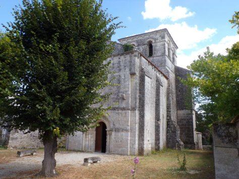 Graves-Saint-Amant - L'église Saint-Martin (18 août 2016)