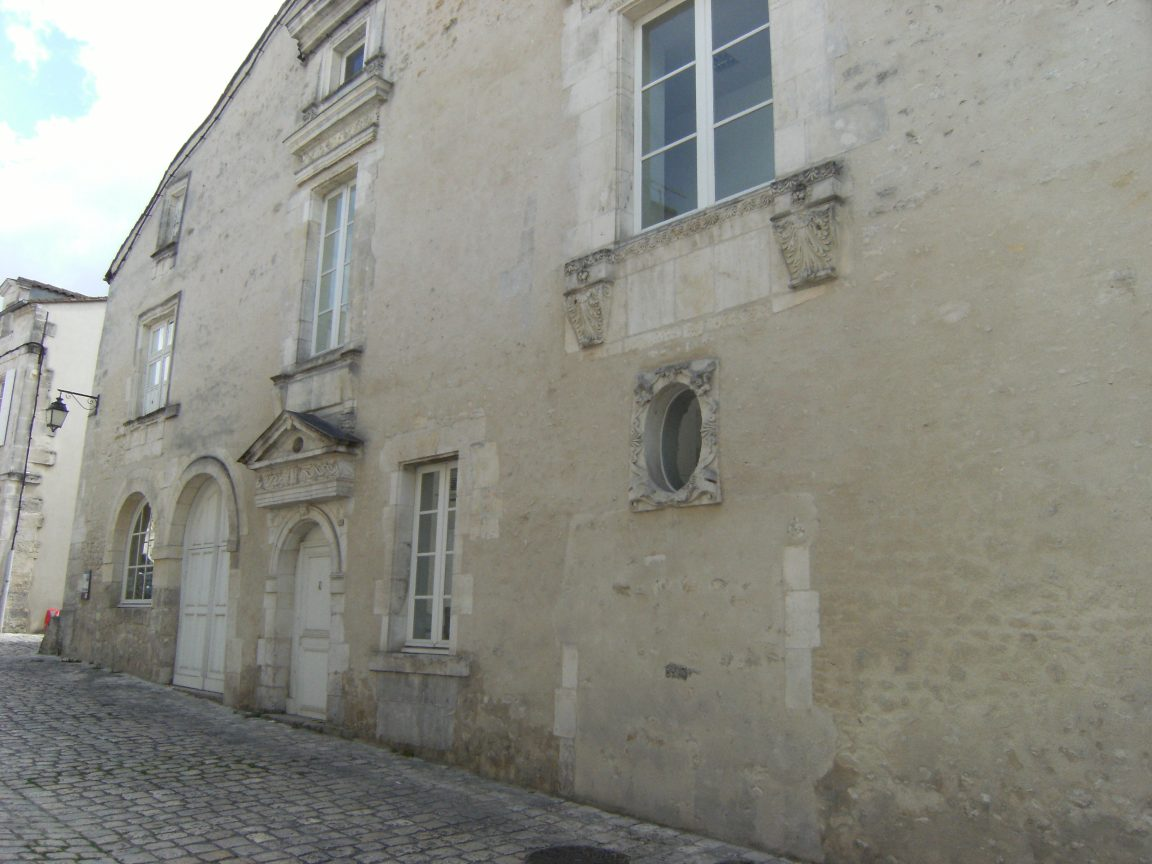 Hôtel Perrin de Boussac (mai 2015)