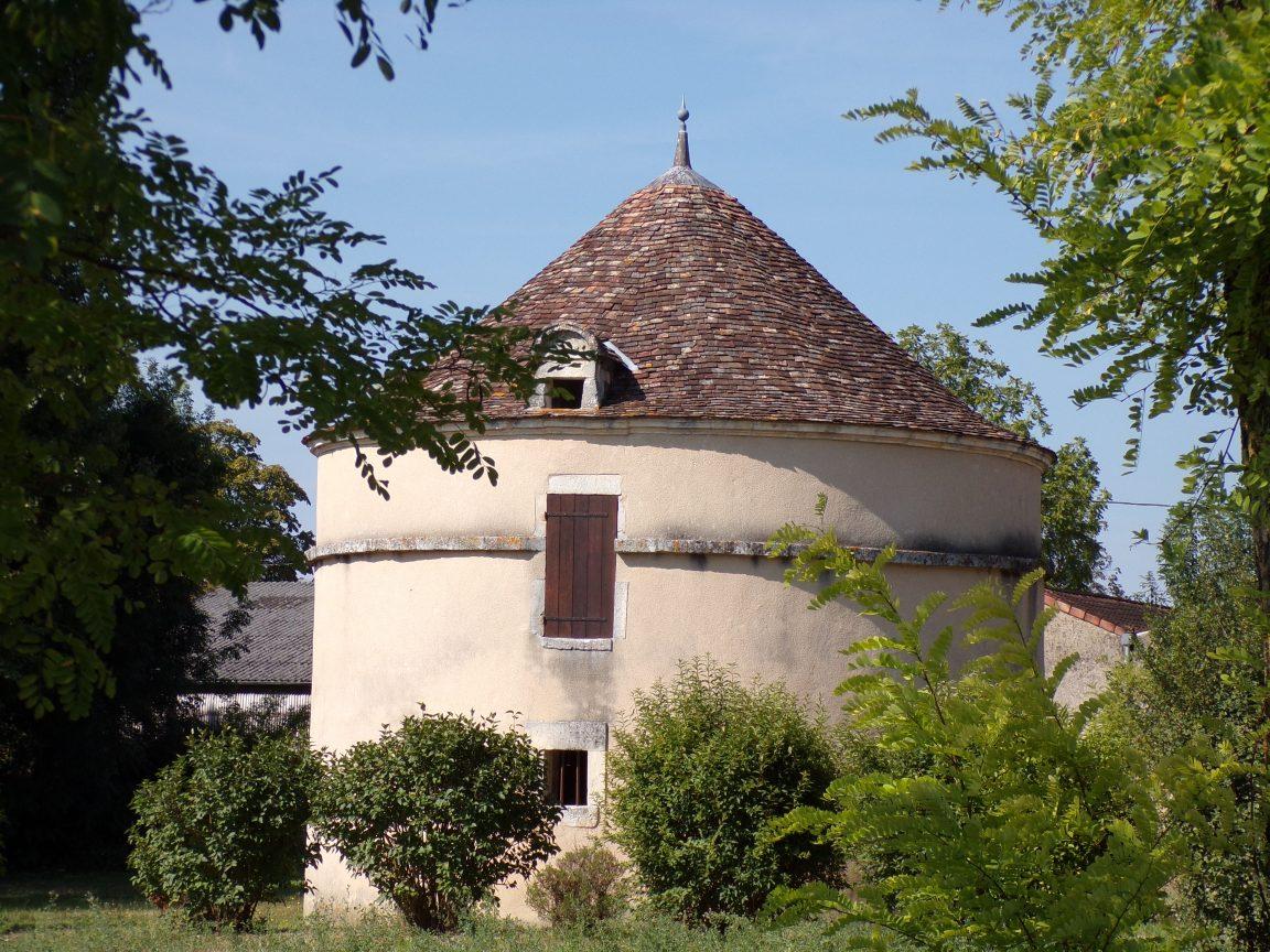 Jarnac - Le pigeonnier de Nanclas (21 septembre 2016)