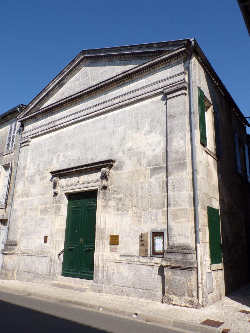 Jarnac - Le temple protestant (21 septembre 2016