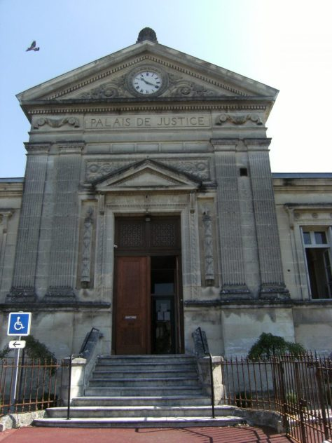 Le palais de justice (18 juin 2015)