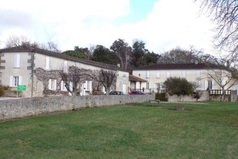Cherves-Richemont - Le logis de Brissac (11 janvier 2018)