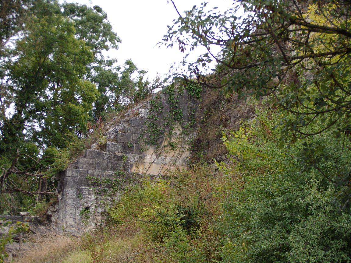 Merpins - Le château de Merpins (18 septembre 2016)