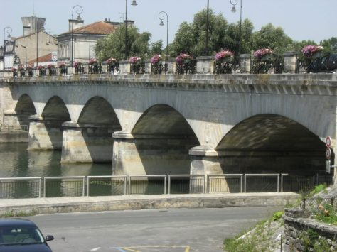 Pont Neuf, actuellement Pont de Saint Jacques (3 juillet 2015)