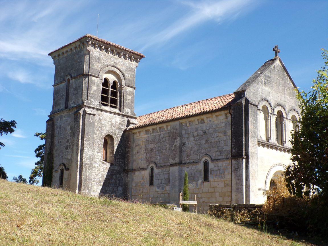 Cherves-Richemont - L'église Saint-Georges (3 septembre 2016)