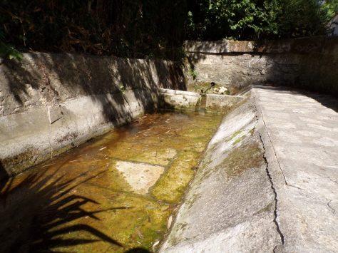 Saint-Brice - Le lavoir de la Maurie (12 septembre 2016)