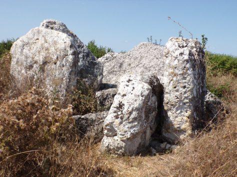 Saint-Même les Carrières - Le dolmen dit La Pierre Levée (8 septembre 2016)