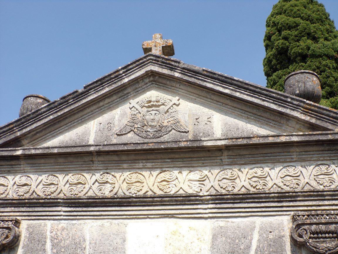 Saint-Simon - Le portail du cimetière (8 septembre 2016)