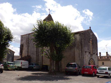 Saint-Simon - L'église Saint-Sigismond (18 août 2016)