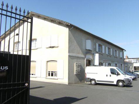 Distillerie d'eau-de-vie de cognac de la Participation charentaise, puis la Grande Marque, puis Camus frères, actuellement Camus (3 septembre 2015)