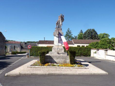 Saint-Brice - Le monument aux morts (27 mai 2020)
