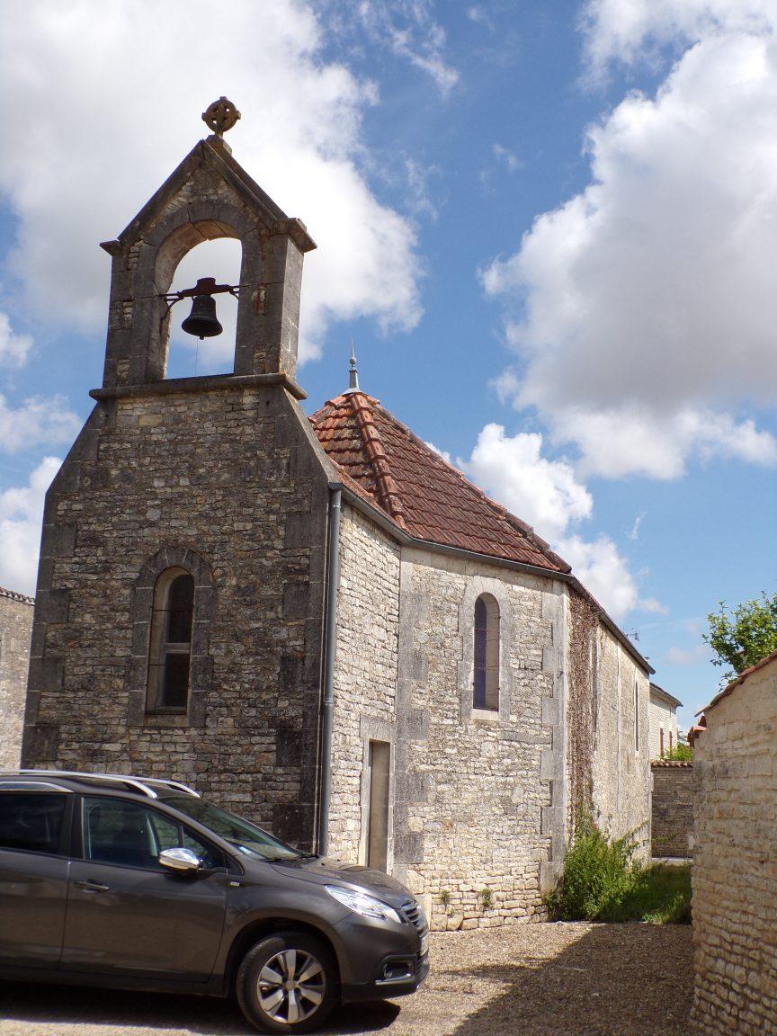 Luchac - La chapelle (8 juin 2020)