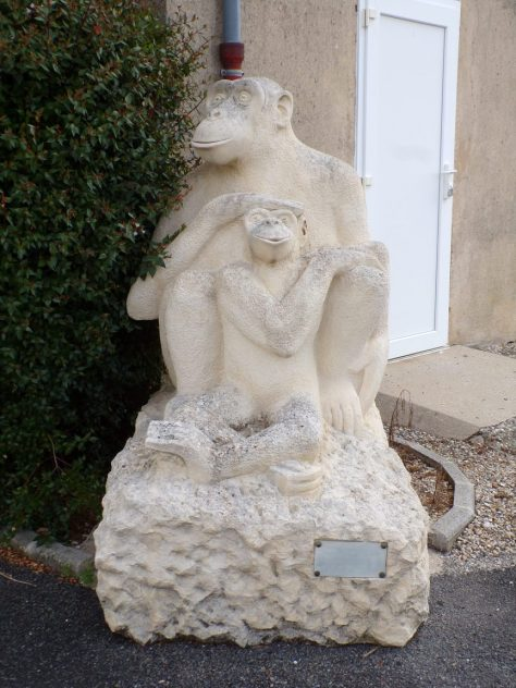 """Symposium 2009 : Mère poule d'Olivier DELOBEL. Un phrase pour résumer mon oeuvre, qui n'est pas de moi mais de Victor Hugo : """"L'instinct maternel est divinement animal. La mère n'est plus femme, elle est femelle"""" (8 juin 2020)"""