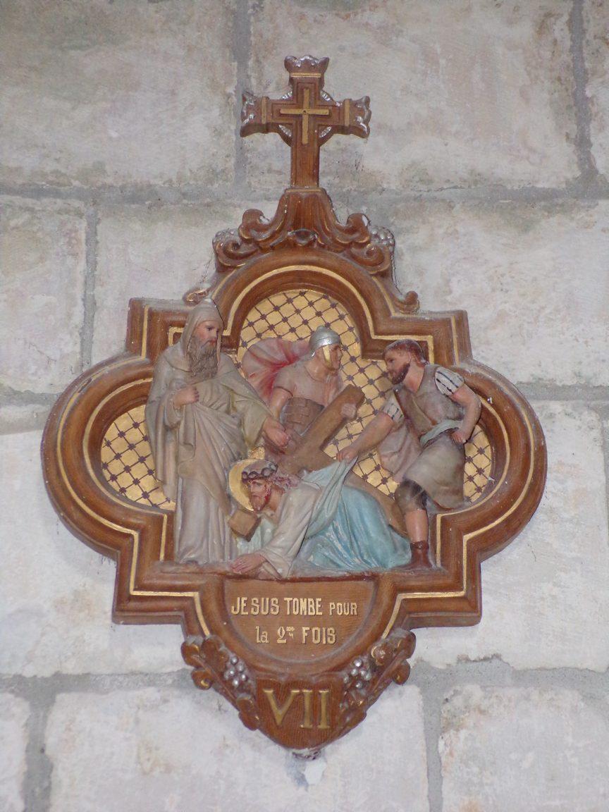 Salles d'Angles - La Chapelle des Templiers - Le chemin de Croix (30 juin 2020)