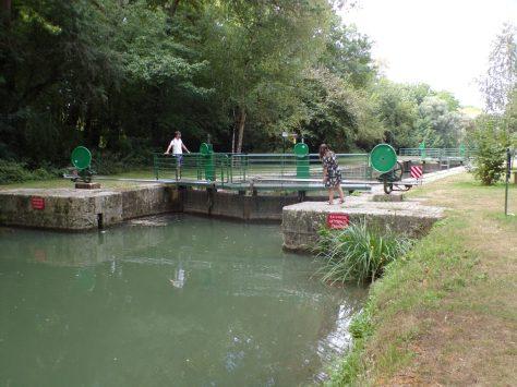 Bourg-Charente - L'écluse de Bourg-Charente (19 août 2020)