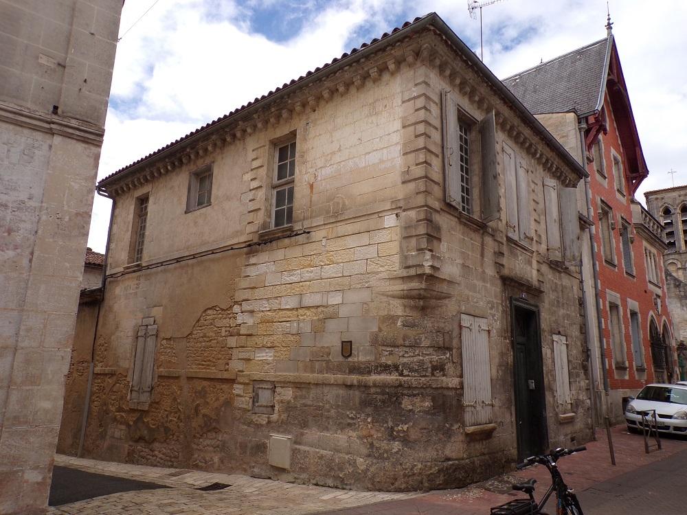 Jarnac - Maison Hillairet Grand Rue (19 août 2020)