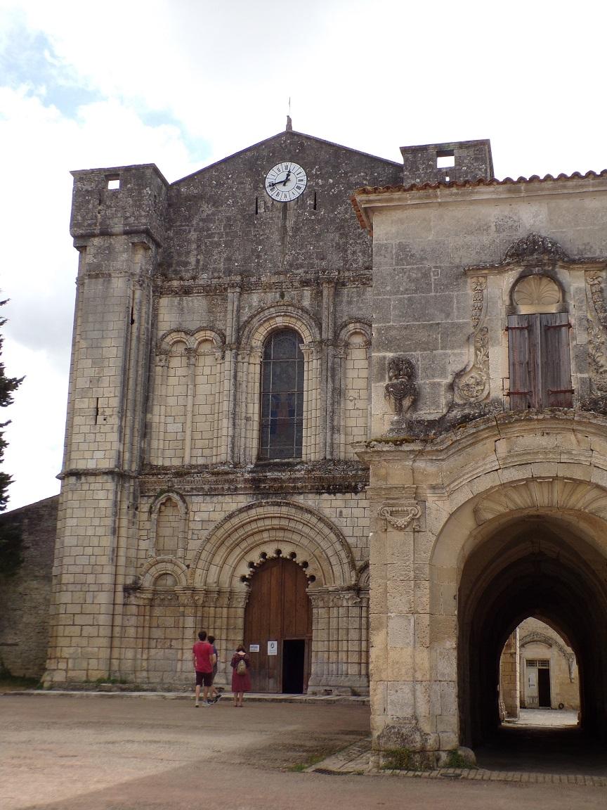 Bassac - L'abbaye Saint-Etienne (18 août 2016)
