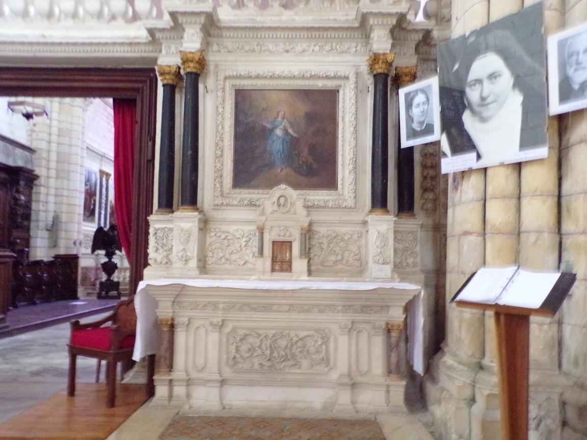 Bassac - L'abbaye Saint-Etienne - 'La chapelle Sainte Thérèse de Lisieux' (18 août 2016)